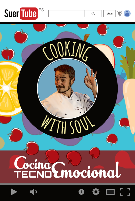 Logo Cooking with soul